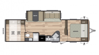 2019 Summerland 2960BH Floor Plan