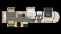 2017 Gateway 3712RDMB Floor Plan