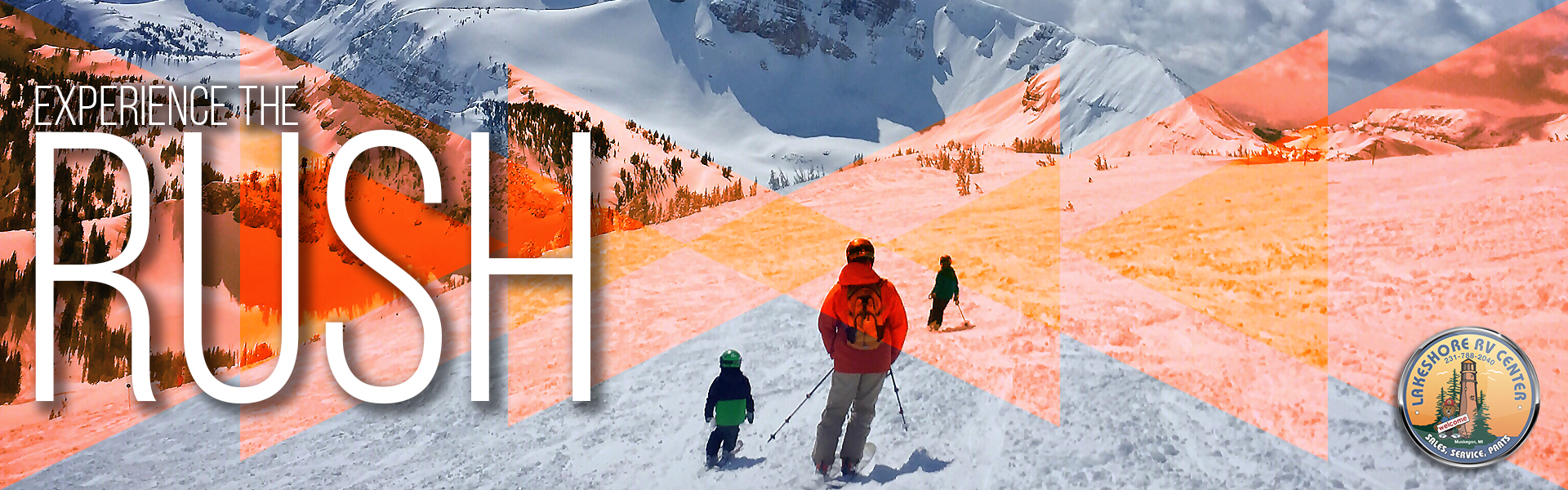 Family skiing in Jackson Hole, WY - Experience the rush