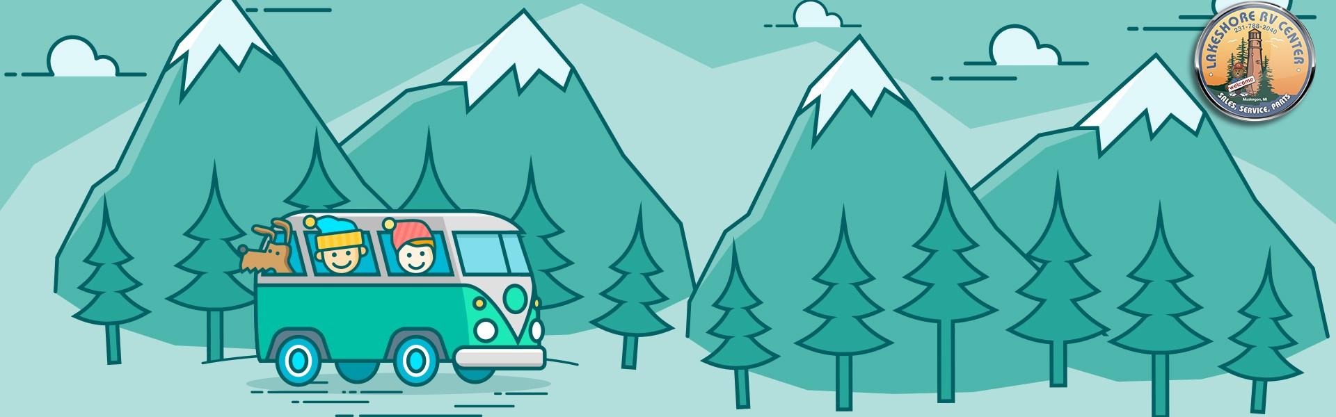 RVs perfect for winter