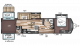 2018 Wildwood DLX 402QBQ Floor Plan