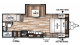 2018 Wildwood X-Lite 230BHXL Floor Plan