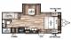 2018 Wildwood X-Lite 230BHXL Floor Plan