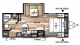 2018 Wildwood X-Lite 232RBXL Floor Plan