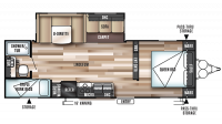2017 Wildwood 26TBSS Floor Plan