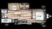 2017 Wildwood 26TBSS Floor Plan
