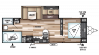 2019 Wildwood 28DBUD Floor Plan