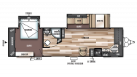 2018 Wildwood 29FKBS Floor Plan