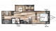 2018 Wildwood 30KQBSS Floor Plan