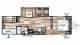 2017 Wildwood 30QBSS Floor Plan