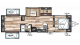 2018 Wildwood 31QBTS Floor Plan