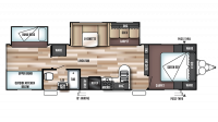 2017 Wildwood 32BHDS Floor Plan