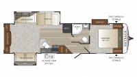 2019 Outback 298RE Floor Plan