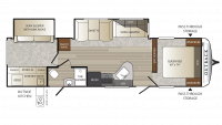 2018 Outback 312BH Floor Plan