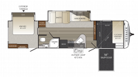 2019 Outback 324CG Floor Plan