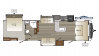 2019 Outback 332FK Floor Plan