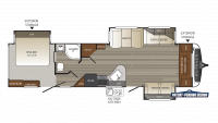 2017 Outback 333FE Floor Plan
