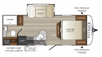 2018 Outback Ultra Lite 220URB Floor Plan