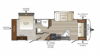 2019 Outback Ultra Lite 272UFL Floor Plan