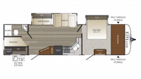 2017 Outback Ultra Lite 314UBH Floor Plan