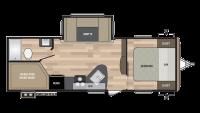 2017 Springdale 240BH Floor Plan