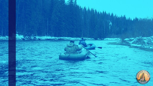 Winter Water Rafting In Michigan