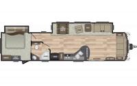 2019 Residence 40FDEN Floor Plan