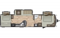 2018 Residence 40KBBH Floor Plan