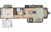 2018 Residence 40LOFT Floor Plan