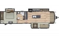 2019 Residence 40MKTS Floor Plan