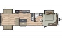2018 Residence 401RDEN Floor Plan