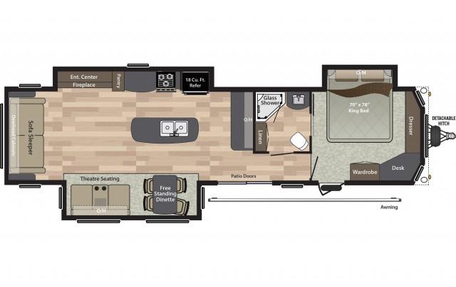 2019 Residence 401RLTS