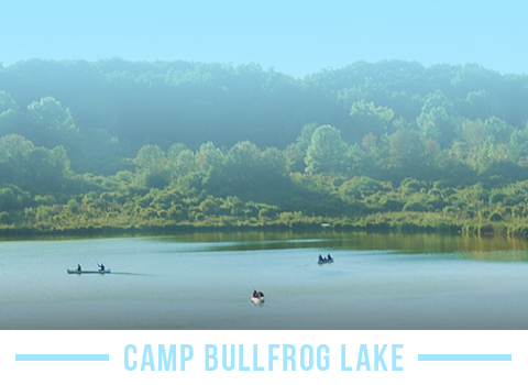 Stay at Camp Bullfrog lake while in Chicago