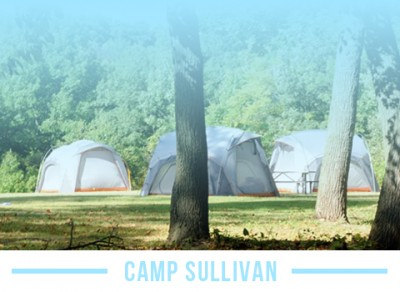 Stay at Camp Sullivan while in Chicago