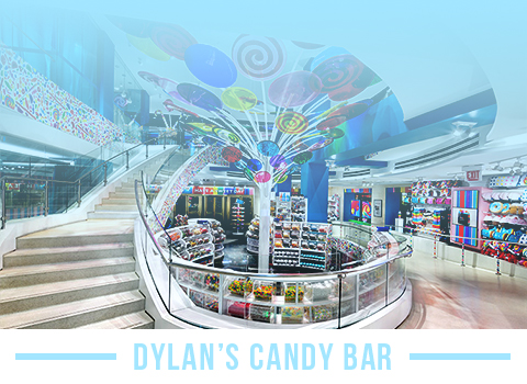 Satisfy your sweet tooth at Dylan's Candy Bar in Chicago