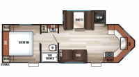 2017 Cherokee 234VFK Floor Plan