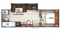 2017 Cherokee 235B Floor Plan