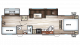 2017 Cherokee 294BH Floor Plan