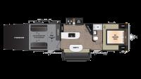 2018 Impact 303 Floor Plan