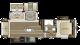 2018 Cougar Xlite 29RLI Floor Plan
