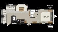 2019 Passport Grand Touring 2890RL Floor Plan