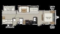 2019 Passport Grand Touring 3220BH Floor Plan