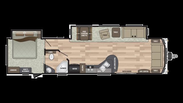 2019 Residence 401FDEN