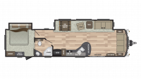2019 Residence 401FDEN Floor Plan