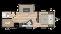 2019 Springdale 240BH Floor Plan