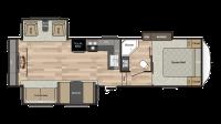 2019 Springdale 253FWRE Floor Plan