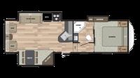 2019 Springdale 278FWRL Floor Plan
