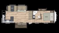 2019 Springdale 302FWRK Floor Plan