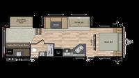 2019 Springdale 303BH Floor Plan