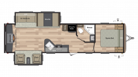 2018 Springdale 311RE Floor Plan